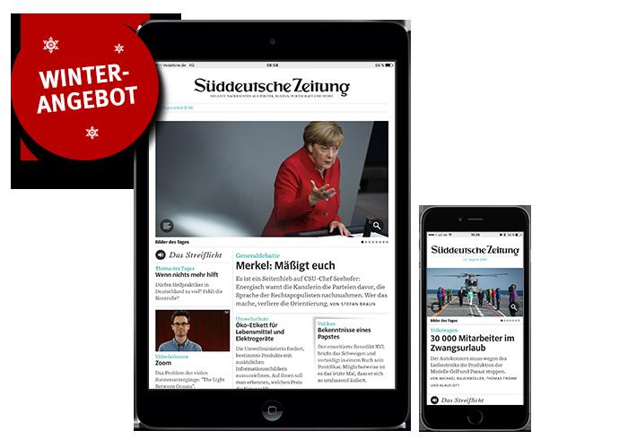 SZ Plus Der digitale Zugang zur Süddeutschen Zeitung