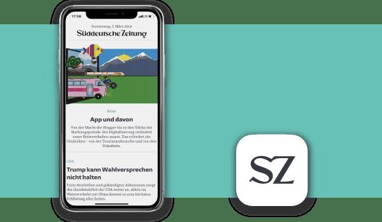 SZ Plus weisse App