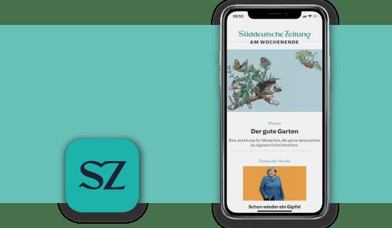 SZ Plus gruene App