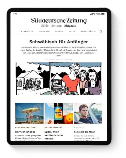 Interviews und Reportagen auf SZ-Magazin.de