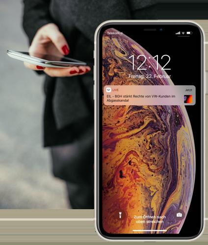 Push Nachrichten und Eilmeldungen in der SZ Nachrichten-App