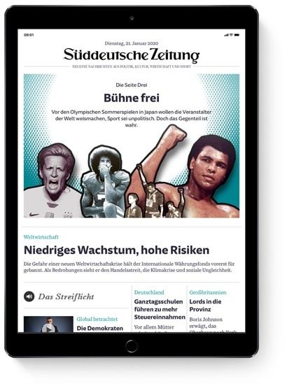 SZ.de im Browser