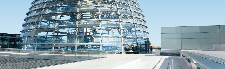 Bild vom Bundestag